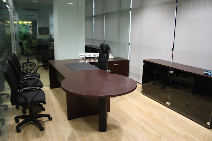 Al Kabeer Office Project Moderne Bürogebäude von Touch International (Mumbai & Pune) Modern