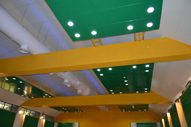 HPCL Ceiling and Panelling by Touch International (Mumbai & Pune) Modern