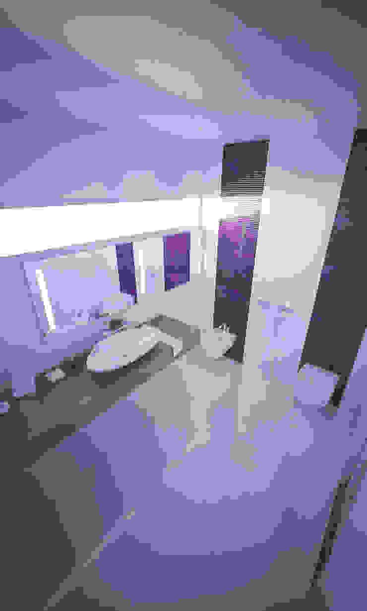 Casa SN Casas de banho modernas por Rúben Ferreira | Arquitecto Moderno