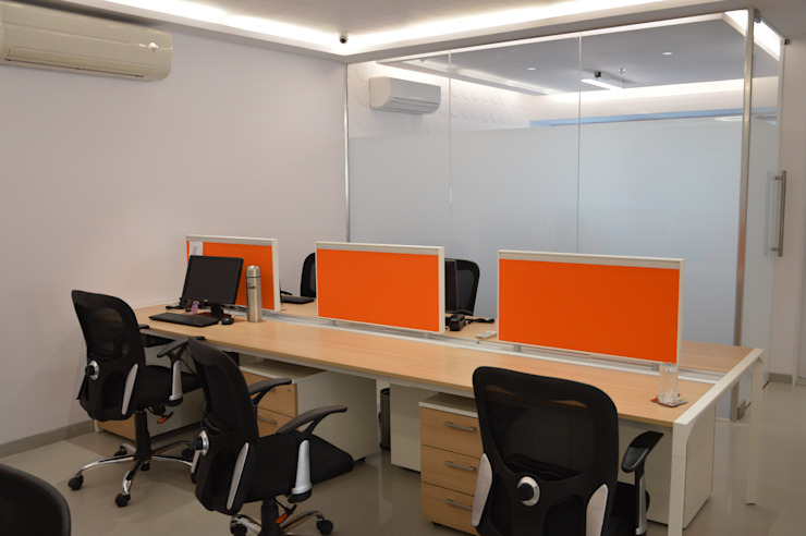 Gits Food Project Modern office buildings by Touch International (Mumbai & Pune) Modern