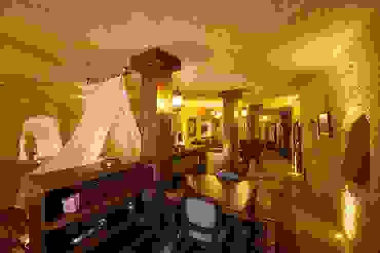 Salon rustique par Kayakapi Premium Caves - Cappadocia Rustique