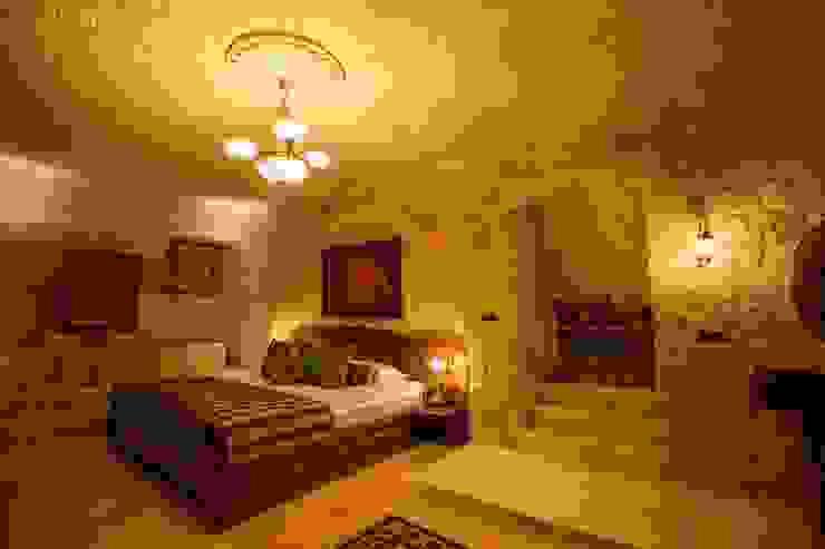 Kunduracı Mehmet evi Öncesi ve Sonrası Rustik Yatak Odası Kayakapi Premium Caves - Cappadocia Rustik