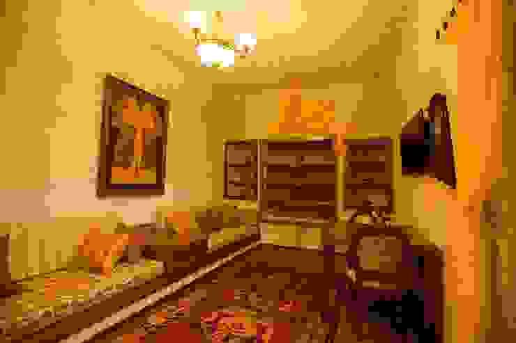 Kunduracı Mehmet evi Öncesi ve Sonrası Rustik Oturma Odası Kayakapi Premium Caves - Cappadocia Rustik