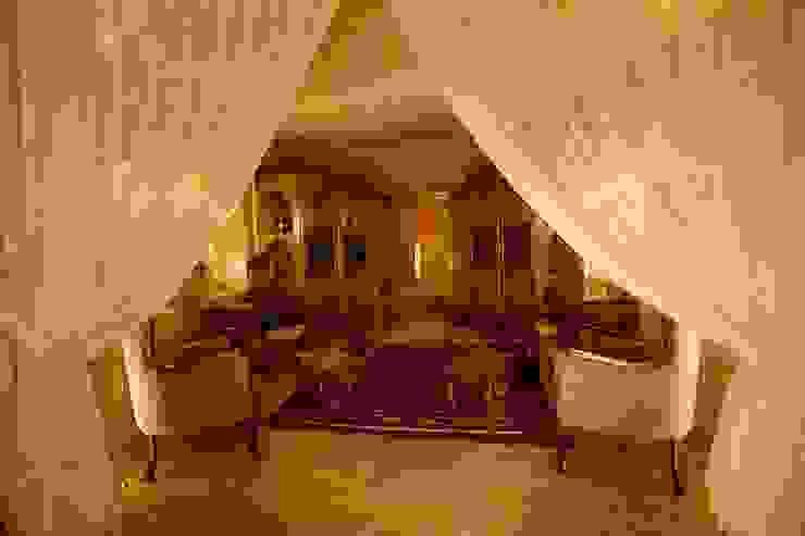 ラスティックデザインの リビング の Kayakapi Premium Caves - Cappadocia ラスティック