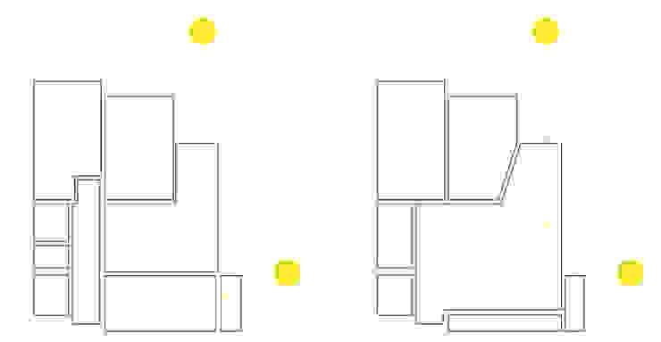 Diagramas de Iluminação por Atelier Alvalade Moderno