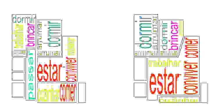 Diagramas de Espaços por Atelier Alvalade Moderno