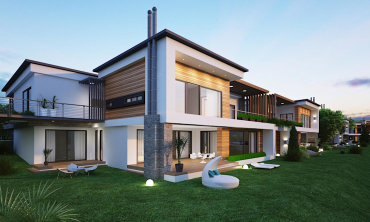 BUUN MOTTO ARCHITECTS Rumah Modern