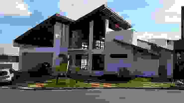 projeto Casas rústicas por A3 arquitetos Rústico