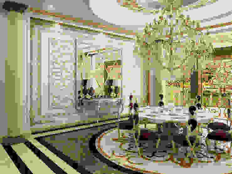 VIP Yemek salonu - Türkmenistan Abb Design Studio Klasik