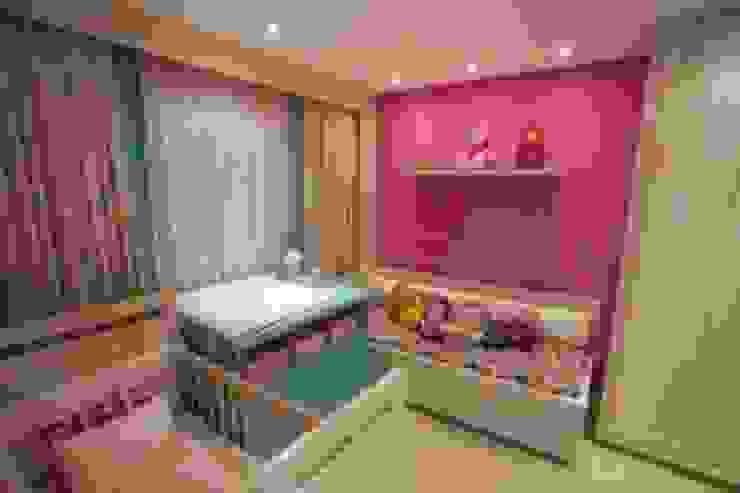 Apto Casa 03 Quarto infantil clássico por Flávia Bonet - Arquitetura Clássico