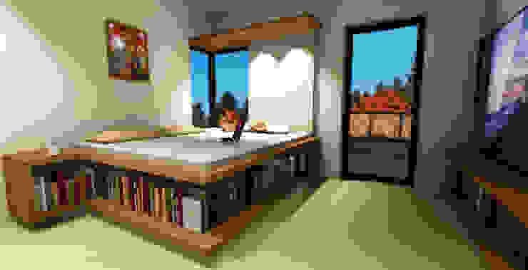 Schlafzimmer Minimalistische Schlafzimmer von LeontiucArchitekten Minimalistisch
