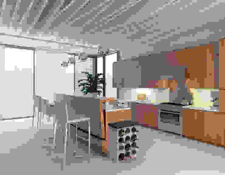 Cemento Italiano KitchenStorage Grey
