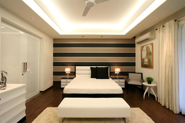 Apartment Modern style bedroom by Saloni Design Modern