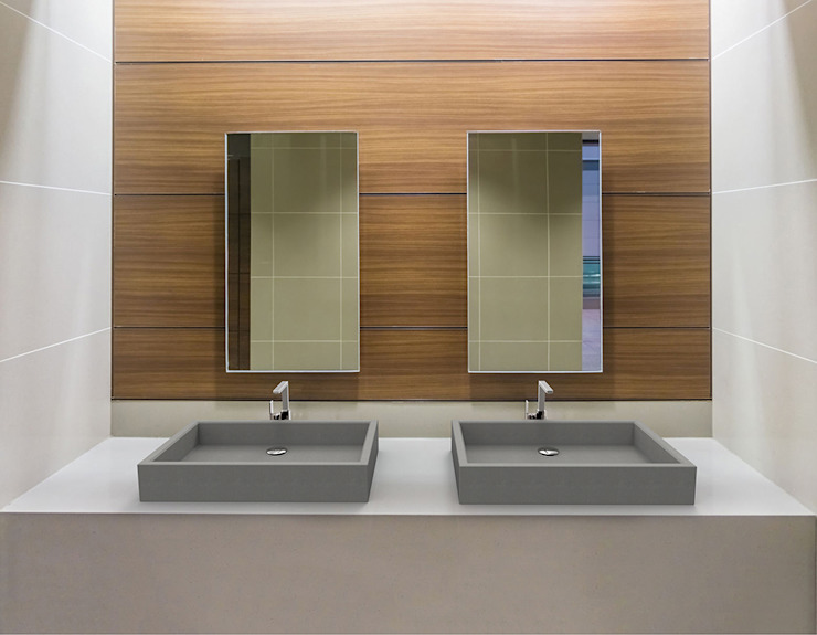 Cemento Italiano BathroomSinks Grey