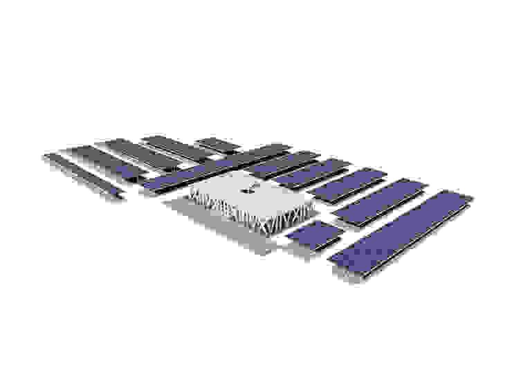 Parque Solar Fotovoltaico – Odivelas:  industrial por Polys,Industrial