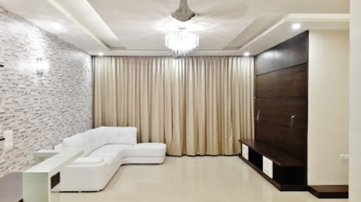 Apartment Modern living room by Artis Interiorz Private Limited Modern