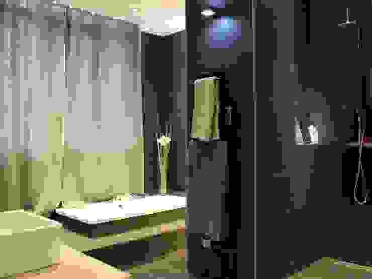 Appartement Salle de bain moderne par Atrmosphere Agencement Moderne