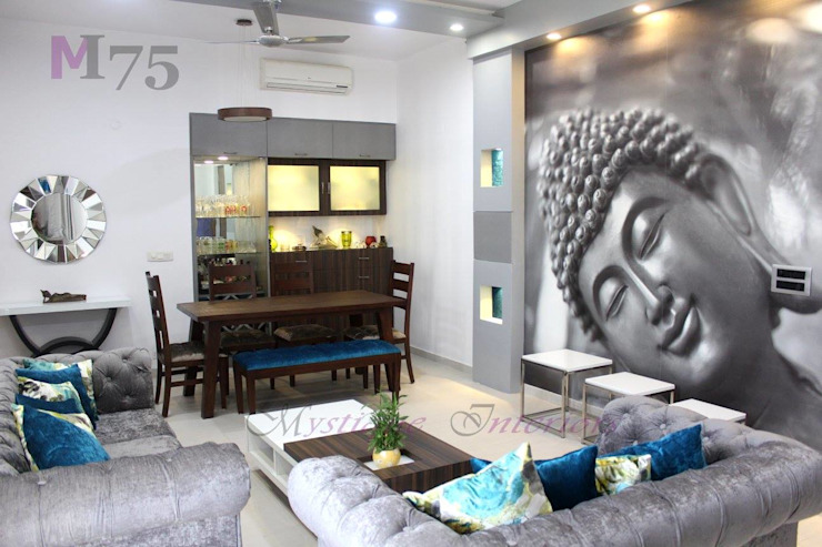The Apartments Modern living room by The Mystique Interiors Modern