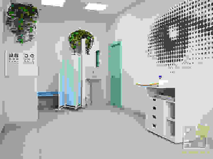Медицинский центр - кабинет офтальмологии Кабинеты врачей в стиле минимализм от Елена Марченко (Киев) Минимализм