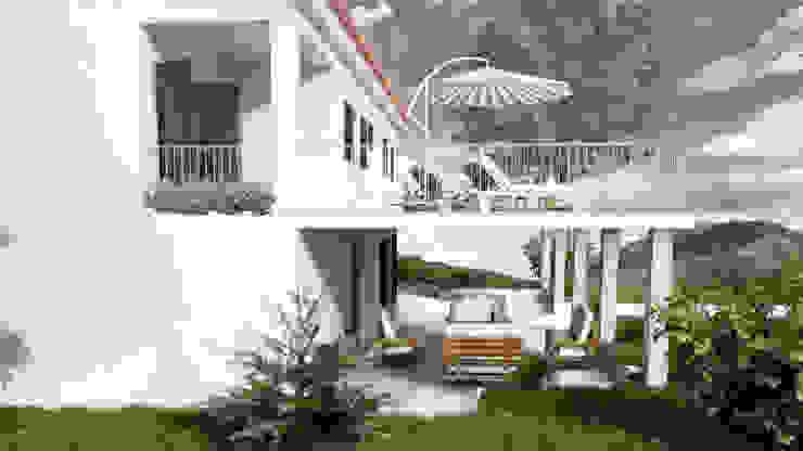 Casa PS | Modelação e Renderização 3D por Rúben Ferreira | Arquitecto