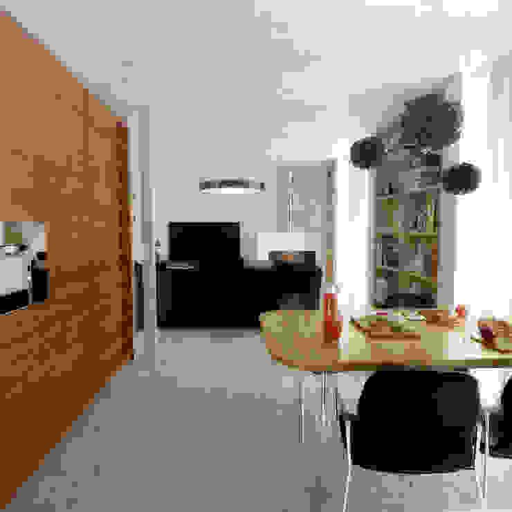 Casa D: Salas de jantar  por Rúben Ferreira | Arquitecto