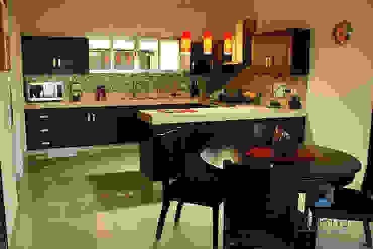 Dapur Modern Oleh PORTO Arquitectura + Diseño de Interiores Modern