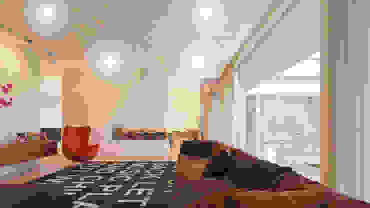 Casa AA: Salas de estar  por Rúben Ferreira | Arquitecto