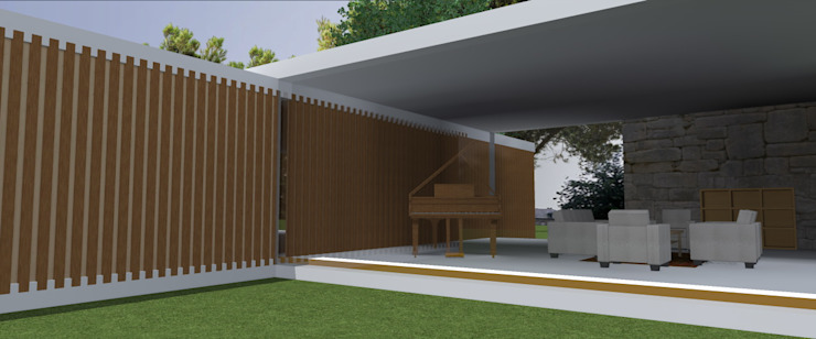 Piano's House por a-tuar arquitetura