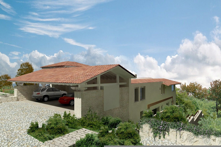Casa Tres Marias- Boué Arquitectos Casas rústicas de Boué Arquitectos Rústico Piedra