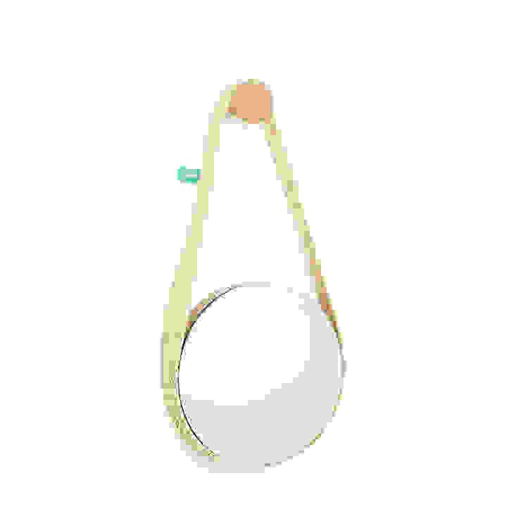 BELA (espelho pequeno) por DAM Mediterrânico Sisal/palha Azul