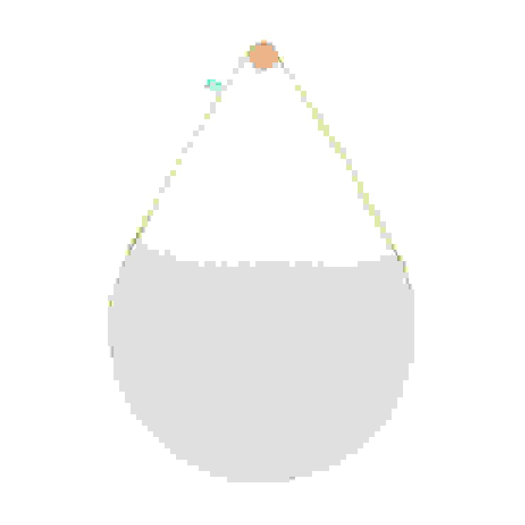 BELA (espelho grande) por DAM Mediterrânico Sisal/palha Azul