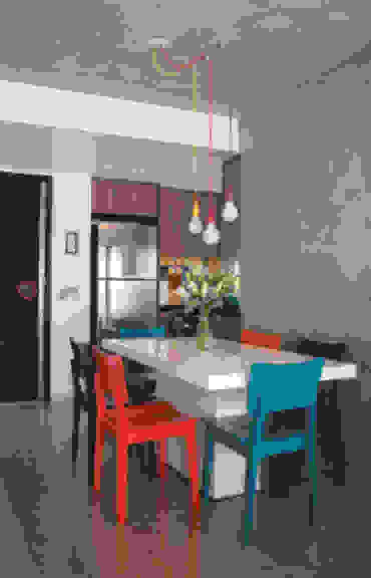 Sala integrada com a cozinha Salas de jantar modernas por Lima Orsolini Arquitetura e Interiores Moderno