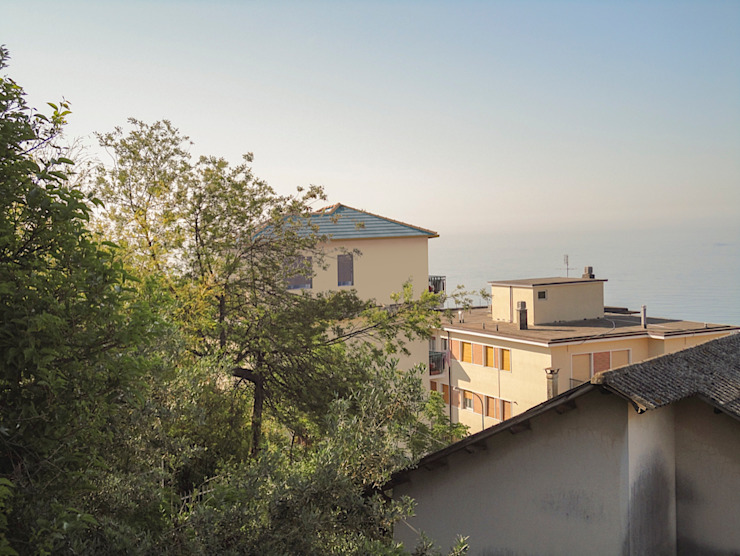 Fotoinserimento sopraelevazione di Damiano Ferrando | Architectural Visualization |