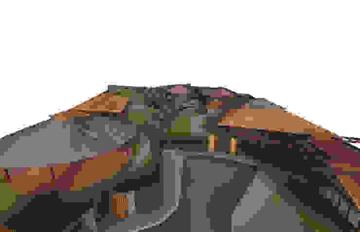 Viviendas Unifamiliares tipo Bungalow Casas de estilo tropical de Constructora Arquimac C.A Tropical Ladrillos