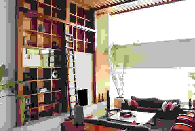 Departamento Frondoso Lomas Country Club - Boué Arquitectos Casas modernas de Boué Arquitectos Moderno