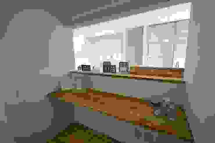 自家菜園の家 パウダールーム の フォーレストデザイン一級建築士事務所