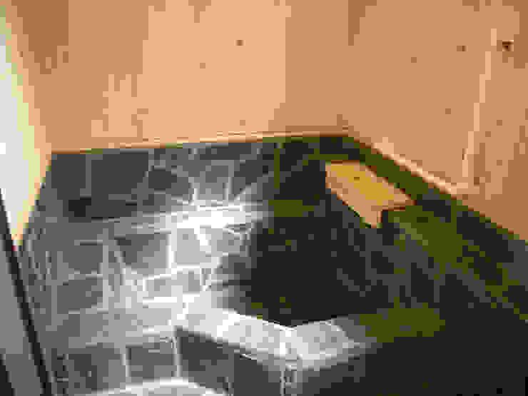 施工事例 和風の お風呂 の drem.tao.koubou 和風