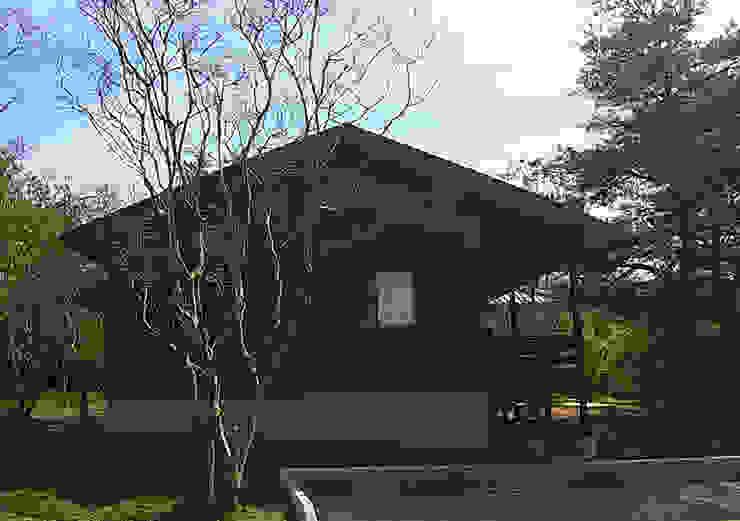 施工事例 モダンな 家 の drem.tao.koubou モダン