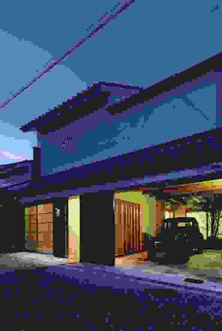 路地のある寺内町の家 モダンな 家 の 一級建築士事務所 有限会社NEOGEO(ネオジオ) モダン