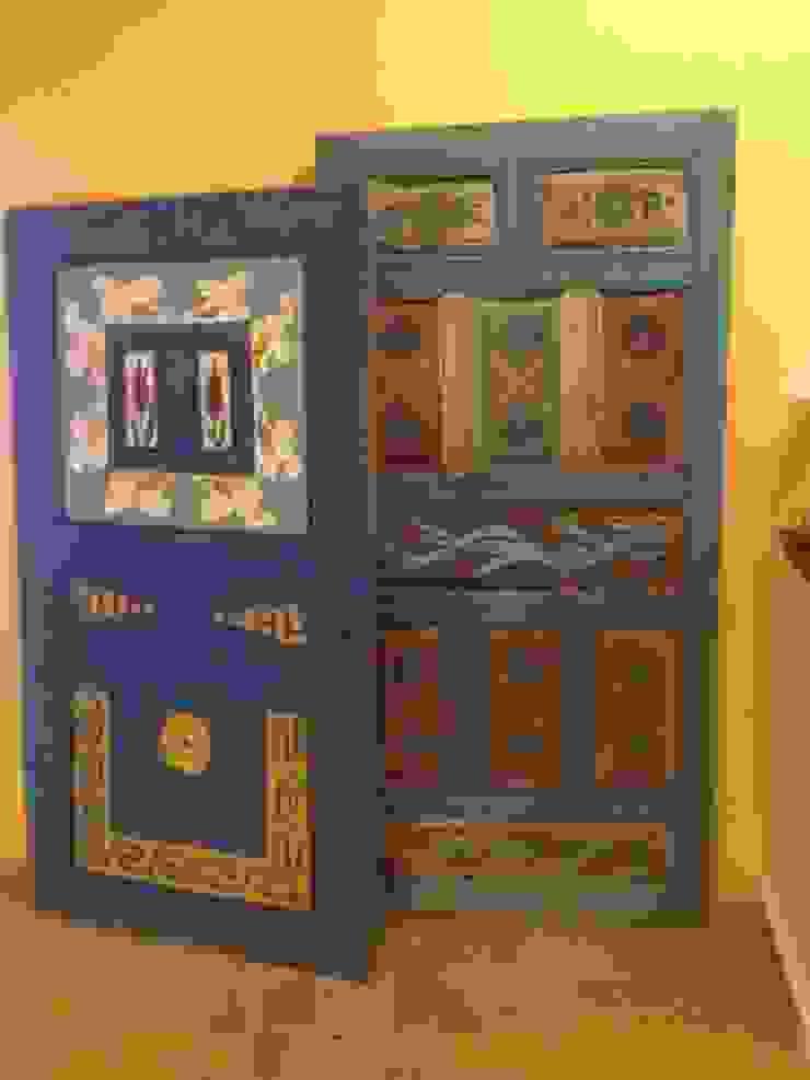 Country dekoratif kapı Gür Mobilya Kırsal/Country Masif Ahşap Rengarenk