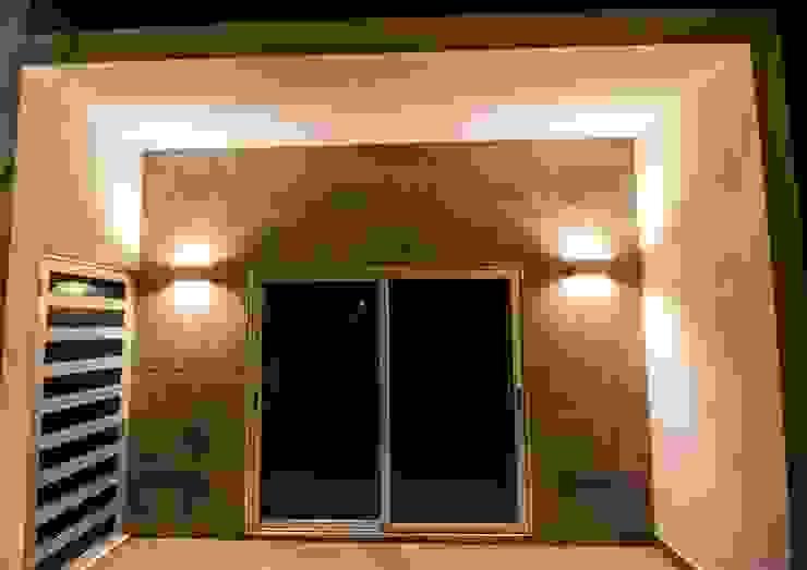 Cenit Arquitectos Balkon, Beranda & Teras Modern