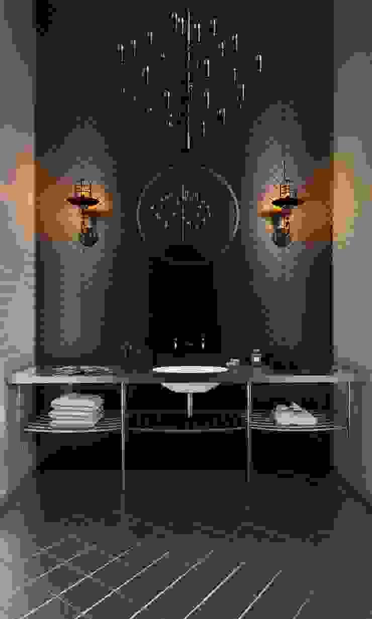 Skandynawska łazienka od Ezra YAZICI Skandynawski