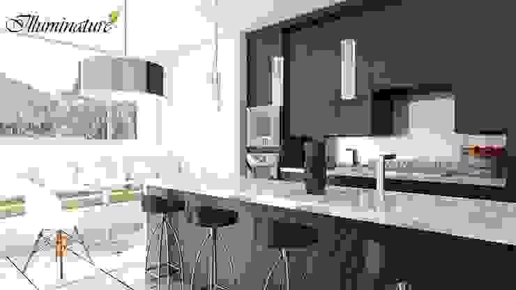 Cocinas de estilo moderno de Iluminature Moderno