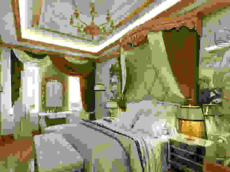 C&N Ailesi - Yatak Odası (Rusya) Klasik Yatak Odası Abb Design Studio Klasik