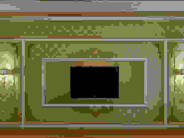 C&N Ailesi – Yatak Odası (Rusya) Klasik Yatak Odası Abb Design Studio Klasik