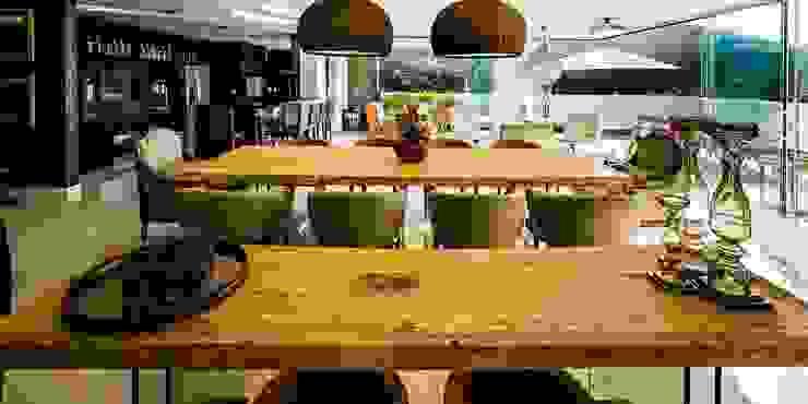 Ocean House 62 Salas de jantar modernas por Espezim Biazzetto Arquitetura Moderno