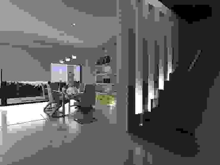 Casas Unifamiliares Livings modernos: Ideas, imágenes y decoración de soledad Moderno