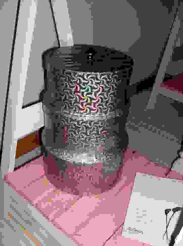 Caixas de arrumação recicladas por Armazém 9 Rústico Papel