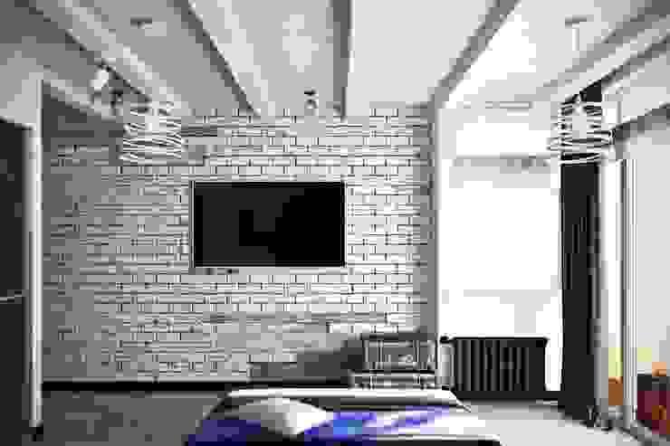 Dormitorios de estilo industrial de De Steil Industrial