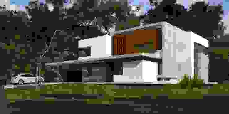 Vivienda en Grand Bell Casas modernas: Ideas, imágenes y decoración de AMADO arquitectos Moderno